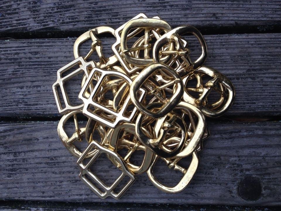 Quality brass buckles